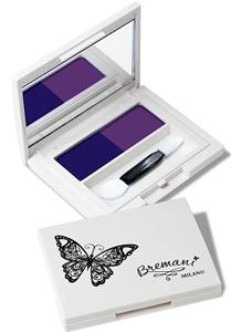 Черничное мороженное, Бабочка, декоративная косметика Бремани, MILANO