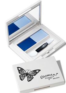 Голубика, Бабочка, декоративная косметика Бремани, MILANO