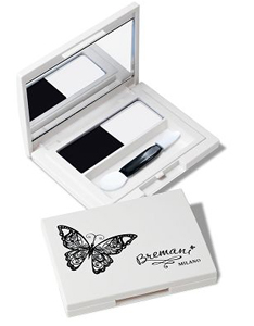 Птичье молоко, Бабочка, декоративная косметика Бремани, MILANO